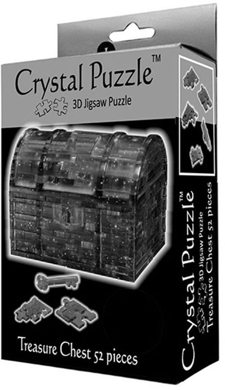 Crystal Puzzle 3D головоломка Сундук пиратский