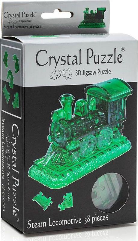 Crystal Puzzle 3D головоломка Паровозик