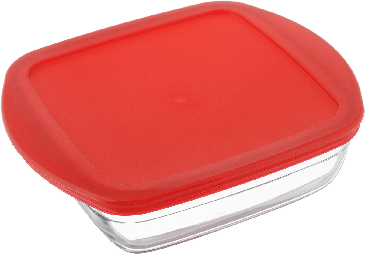 Форма для запекания Pyrex O Cuisine, квадратная, с крышкой, 20 х 17 см211PC00Форма Pyrex O Cuisine изготовлена из прозрачного жаропрочного стекла. Непористая поверхность исключает образование бактерий, великолепно моется. Изделие идеально подходит для приготовленияв духовом шкафу. Выдерживает перепад температур от -40°C до +300°C.Форма Pyrex O Cuisine подходит для использования в микроволновой печи, приготовления блюд в духовке, хранения пищи в холодильнике. Можно мыть в посудомоечной машине. Размер формы (по верхнему краю): 20 х 17 см.Высота формы: 6 см.