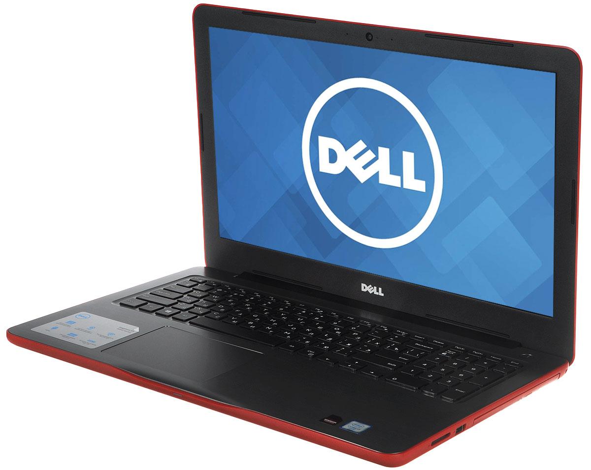 Dell Inspiron 5567-7904, Red5567-7904Производительный процессор шестого поколения Intel Core i3, стильный дизайн и цвета на любой вкус - ноутбук Dell Inspiron 5567 - это идеальный мобильный помощник в любом месте и в любое время. Безупречное сочетание современных технологий и неповторимого стиля подарит новые яркие впечатления.Сделайте Dell Inspiron 5567 своим узлом связи. Поддерживать связь с друзьями и родственниками никогда не было так просто благодаря надежному WiFi-соединению и Bluetooth, встроенной HD веб-камере высокой четкости, ПО Skype и 15,6-дюймовому экрану, позволяющему почувствовать себя лицом к лицу с близкими.15,6-дюймовый экран с разрешением HD ноутбука Dell Inspiron оживляет происходящее на экране, где бы вы ни были. Вы можете еще более усилить впечатление, подключив телевизор или монитор с поддержкой HDMI через соответствующий порт. Возможно, вам больше не захочется покупать билеты в кино.Выделенный графический адаптер AMD RadeonR7 M440 позволяет выполнять ресурсоемкие процедуры редактирования фотографий и видеороликов без снижения производительности.Смотрите фильмы с DVD-дисков, записывайте компакт-диски или быстро загружайте системное программное обеспечение и приложения на свой компьютер с помощью внутреннего дисковода оптических дисков.Точные характеристики зависят от модели.Ноутбук сертифицирован EAC и имеет русифицированную клавиатуру и Руководство пользователя.