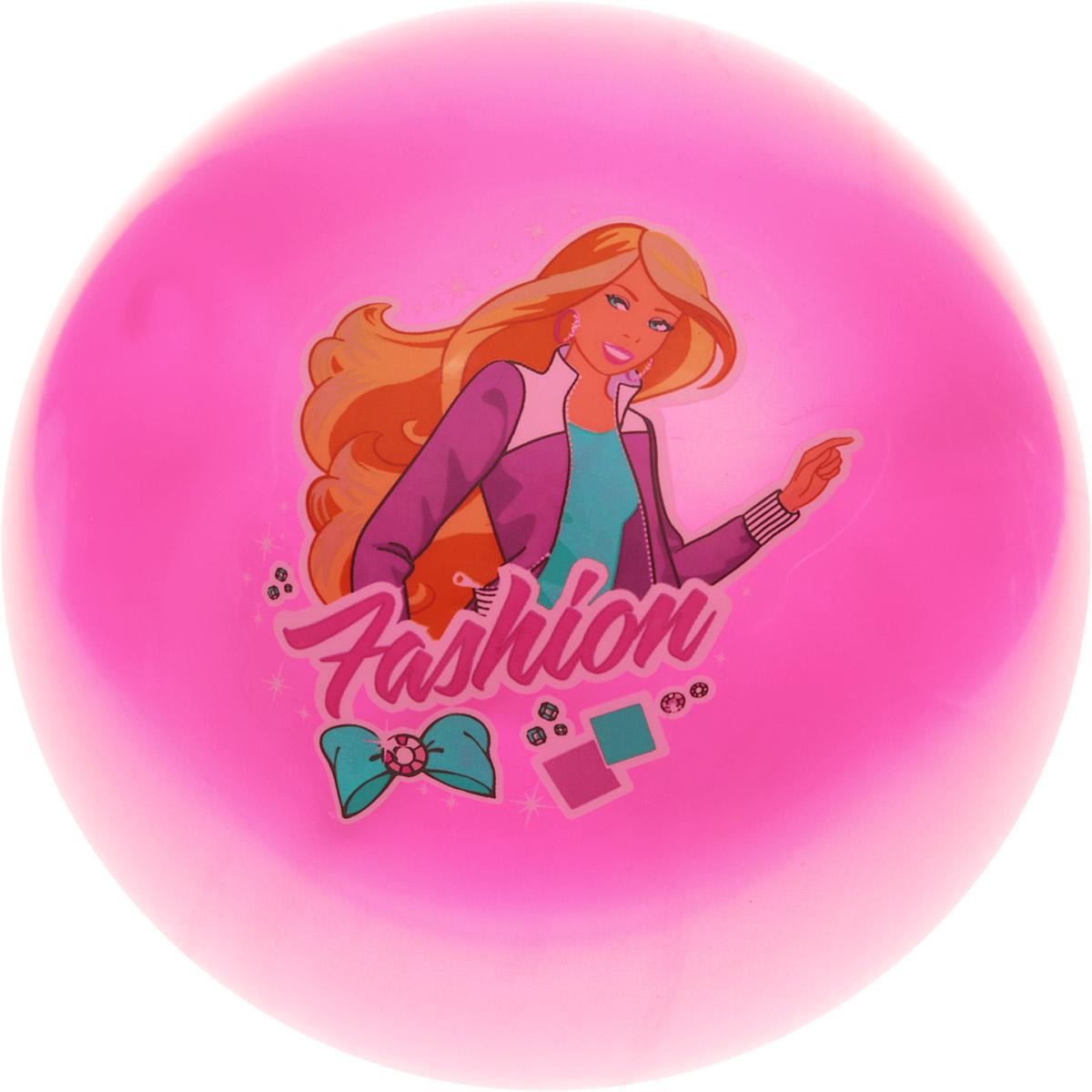 Играем вместе Мяч Fashion цвет розовый 23 см