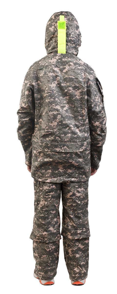 Костюм противоэнцефалитный для мальчика Биостоп, цвет:  зеленый камуфляж.  06/4/07.  Размер 40-80/152