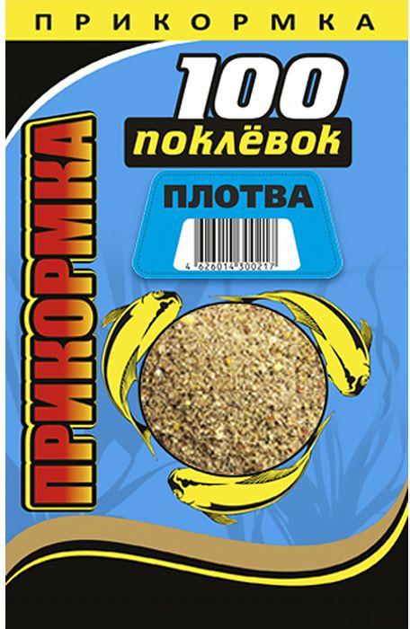 Прикормка 100 Поклевок, плотва, 900 г0057025Прикормка для плотвы 100 Поклевок - прикормочный состав, разработанный для ловли стайных рыб в придонном слое воды. Окрашенная натуральными компонентами в темный цвет, прикормка не выделяется на фоне дна. Наличие в составе таких активных частиц с эффектом лифтинга, как кокосовая стружка и смесь орехов, позволяет создать столб в толще воды с постоянно всплывающими и тонущими частицами, что сильно привлекает плотву. Прикормка универсальна. Ее можно использовать на реках, каналах с медленным течением, а также в водоемах со стоячей водой.