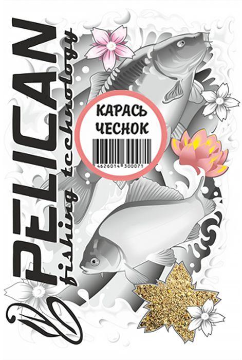 Прикормка Pelican, карась, чеснок, 1000 г0059175Прикормка среднего помола с незначительными добавками крупной фракции желтого цвета. В меру активная и липкая. Классический чесночный аромат всегда показывает хорошие результаты при ловле карася. Предназначена для ловли прудового карася. В сочетании с прикормкой FEEDER прекрасно подойдет при ловле леща на реках с сильным течением. Подходит как для поплавочной ловли при закорме с руки или с помощью рогатки, так и для ловли на фидер с использованием кормушки. Желтый цвет соберет рыбу с больших расстояний.