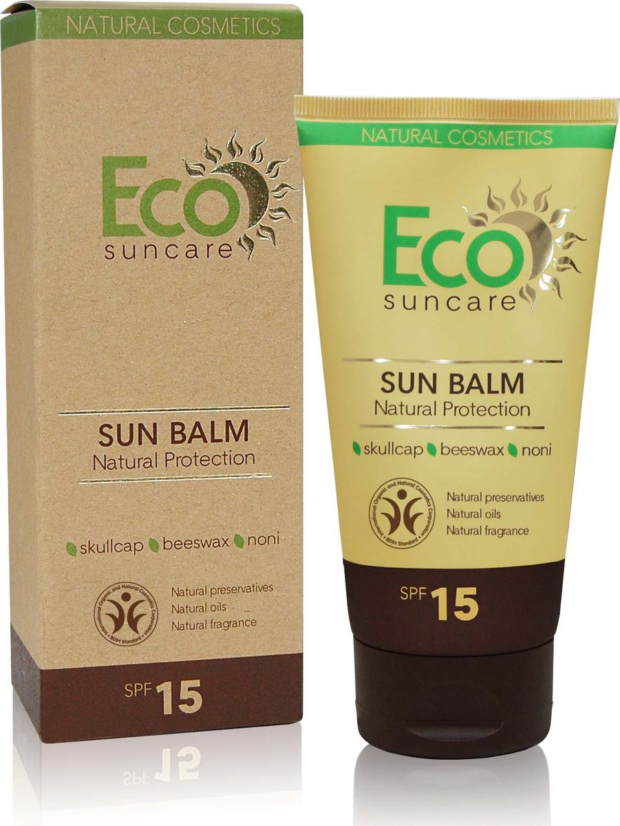 Eco Suncare Натуральный солнцезащитный бальзам -Natural Sun Protection Balm SPF 15 -125мл