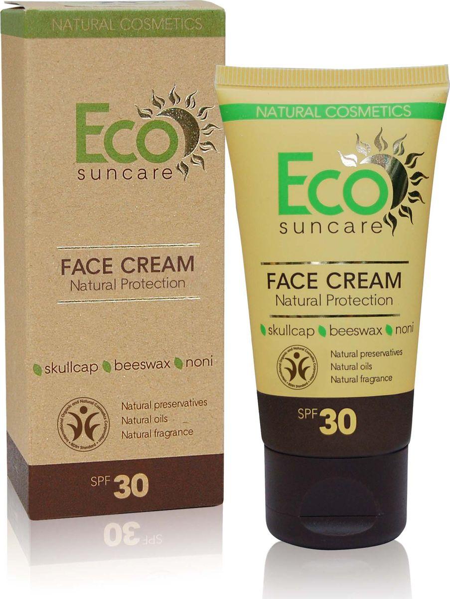 Eco Suncare Натуральный солнцезащитный крем для лица -Natural Sun Protection Face Cream SPF 30 -50мл