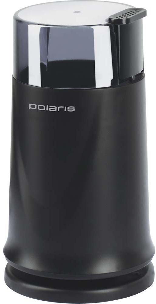 Polaris PCG 1317 кофемолка007568Кофемолка Polaris PCG 1317 - простой и удобный прибор, предназначенный для измельчения кофейных зерен, а также орехов, специй, приготовления сахарной пудры и другого.Мощность прибора составляет 170 Вт, чегохватит, чтобы быстро перемолоть до 70 граммов кофейных зерен за считанные секунды, а для более мелкой степени помола прибор имеет импульсный режим работы.Ножи выполнены из высококачественной нержавеющей стали, корпус имеет приятное пластиковое покрытие.Кофемолка обладает защитой от случайного включения при незакрытой крышке.