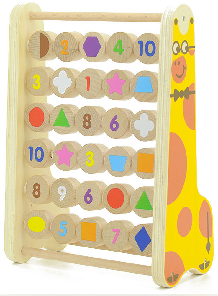 Мир деревянных игрушек Развивающая игра Счеты tukzar набор деревянных ёлочных игрушек 24х24 см 24 предмета