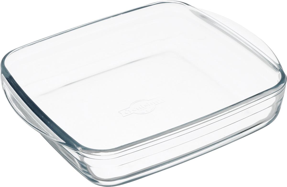 Форма для выпечки Pyrex O Cuisine, квадратная, 25 х 22 см209BC00Форма для запекания Pyrex O Cuisine изготовлена из прозрачного жаропрочногостекла. Непористая поверхность исключает образование бактерий, великолепно моется. Изделие идеально подходит для приготовленияв духовом шкафу. Выдерживает перепад температур от -40°C до +300°C.Форма подходит для использования в микроволновой печи, приготовления блюд вдуховке, хранения пищи в холодильнике. Можно мыть в посудомоечной машине.Размер формы (по верхнему краю): 25 х 22 см.Высота формы: 5 см.