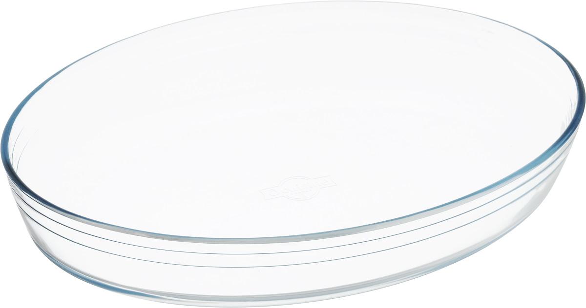 Форма для запекания Pyrex O Cuisine, овальная, 35 х 24 см346BC00Форма для запекания Pyrex O Cuisine изготовлена из прозрачного жаропрочного стекла. Непористая поверхность исключает образование бактерий, великолепно моется. Изделие идеально подходит для приготовленияв духовом шкафу. Выдерживает перепад температур от -40°C до +300°C. Форма подходит для использования в микроволновой печи, приготовления блюд в духовке, хранения пищи в холодильнике. Можно мыть в посудомоечной машине. Размер формы (по верхнему краю): 35 х 24 см. Высота формы: 6 см.