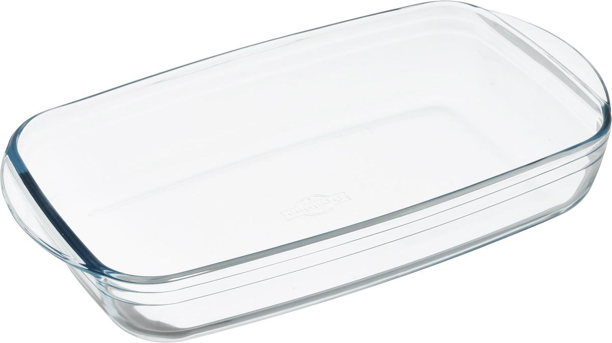 Форма для запекания Pyrex O Cuisine, прямоугольная, 39 х 24 см249BC00Форма для запекания Pyrex O Cuisine изготовлена из прозрачного жаропрочногостекла. Непористая поверхность исключает образование бактерий, великолепно моется. Изделие идеально подходит дляприготовленияв духовом шкафу.Выдерживает перепад температур от -40°C до +300°C.Форма подходит для использования вмикроволновой печи, приготовления блюд вдуховке, хранения пищи в холодильнике. Можно мыть в посудомоечной машине.Размер формы (по верхнему краю): 39 см х 24 см.Высота формы: 7 см.