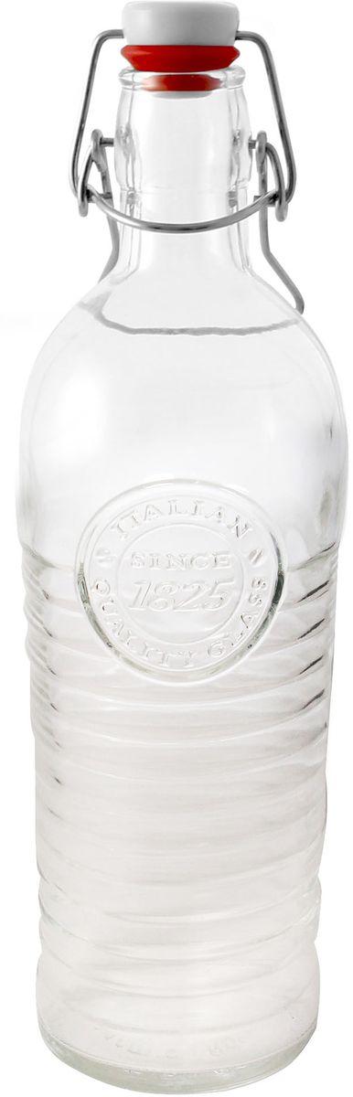 Бутылка Einkochwelt, с крышкой, 1,2 л079081Бутылка Einkochwelt, выполненная из стекла, позволит украсить любую кухню, внеся разнообразие в кухонный интерьер. Она легка в использовании. Крышка плотно закрывается с помощью металлического зажима-клипсы, дольше сохраняя свежесть продуктов. Крышка оснащена силиконовым уплотнителем.Благодаря этому внутри сохраняется герметичность, и напитки дольше остаются свежими.Оригинальная бутылка будет отлично смотреться на вашей кухне.Объем: 1,2 л.