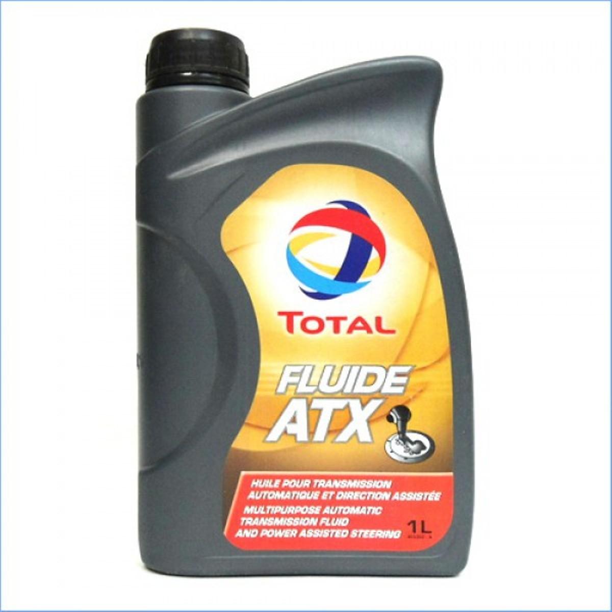 Трансмиссионное масло Total Fluide ATX, 1 л166220Жидкость для автоматических трансмиссий Total Fluide ATX. Масло имеет очень высокий индекс вязкости, обеспечивающий плавную и устойчивую работу во всем температурном интервале. Высокая термическая стабильность, разрешающая поддерживать стабильность других свойств во всем интервале рабочих температур,DEXRON-IID MERCON,BMW GROUP 23 - 3.0 и 24 - 3.0, MAN 339 TYPE Z-1, MAN 339 TYPE V-1, MB-APPROVAL 236.6, VOITH H 55.6335, PSA PEUGEOT CITROEN S71 2102, ZF TE-ML 03D, 04D, 09, 11A, 14A, 17C.