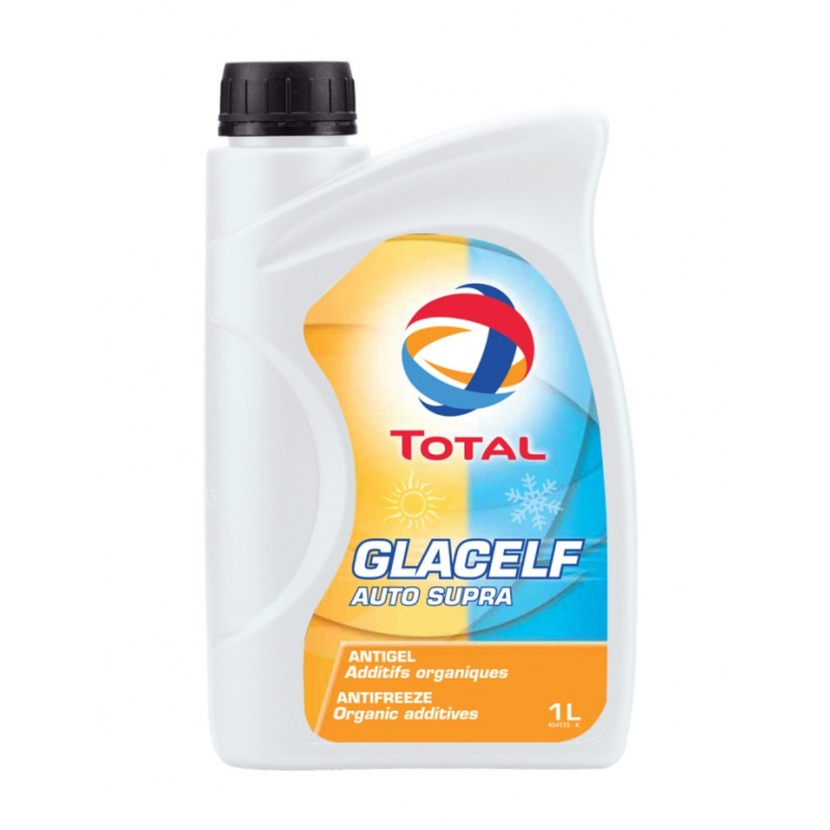 Антифриз Total Glacelf Auto Supra -38, цвет: оранжевый, 1 л антифриз тотал glacelf auto supra