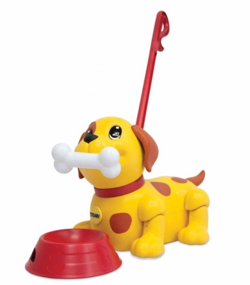 Tomy Интерактивный щенок Погуляй со мной - Интерактивные игрушки
