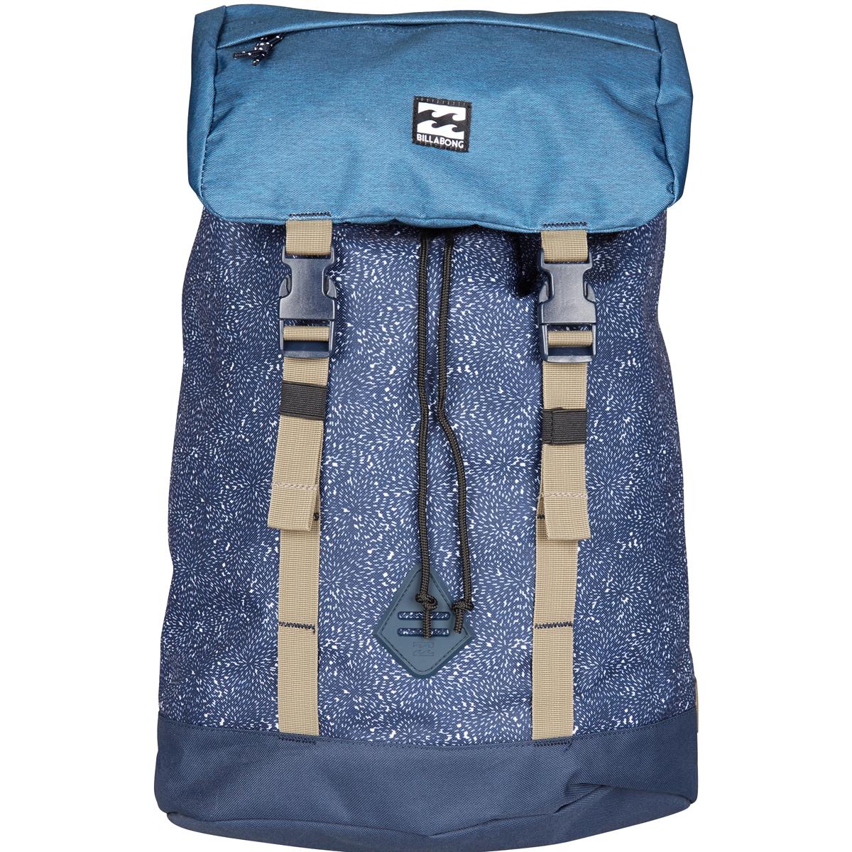 Рюкзак городской Billabong Track Pack, цвет: синий рюкзак городской billabong all day pack цвет черный серый