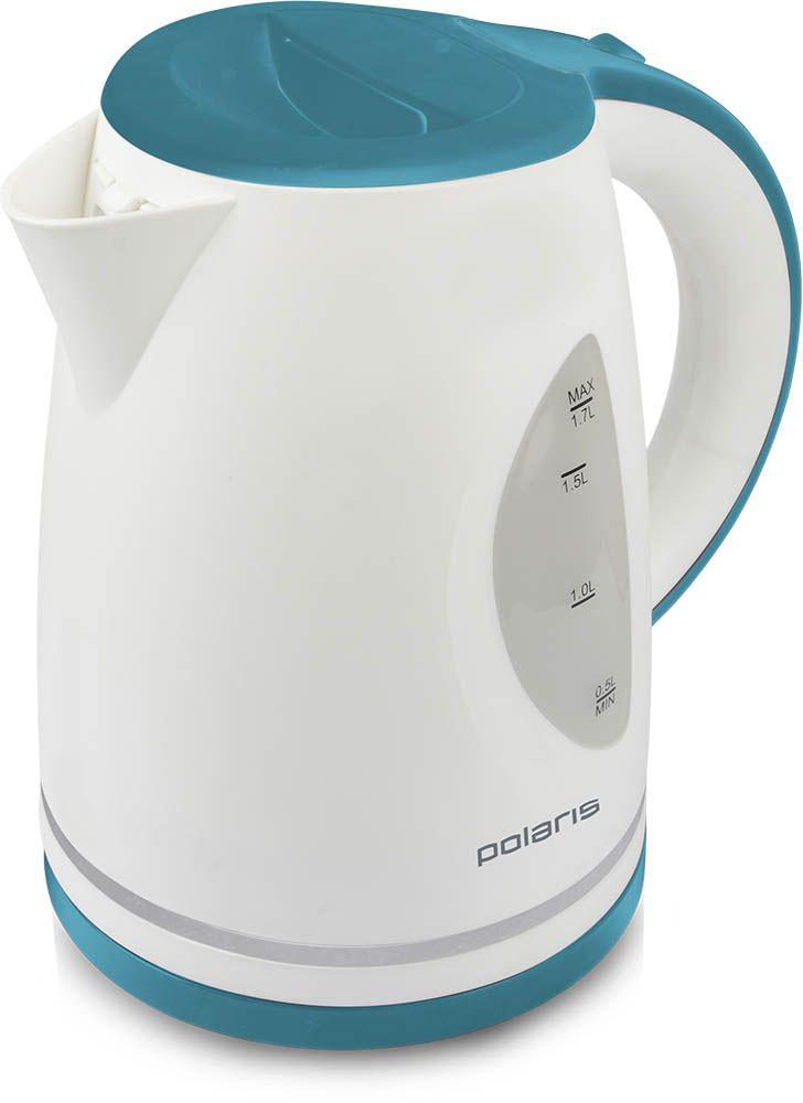 Polaris PWK 1771CL электрический чайник007495Корпус электрического чайника Polaris PWK 1771CL выполнен из высококачественного пластика. Чайник имеет внутреннюю подсветку, большие окна с двусторонним индикатором уровня воды и съемный фильтр для очистки воды. Чайник оснащен системой безопасности - автоматический и ручной выключатель, блокировка включения без воды и защита от перегрева.