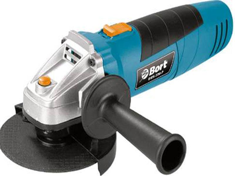 Машина шлифовальная угловая Bort BWS-500-P bort bps 500 p 93720315 электрический лобзик blue