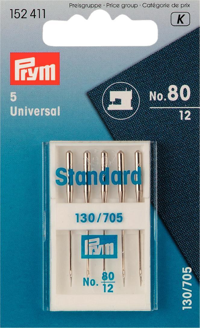 Набор игл для швейных машин Prym, №80, 5 шт152411