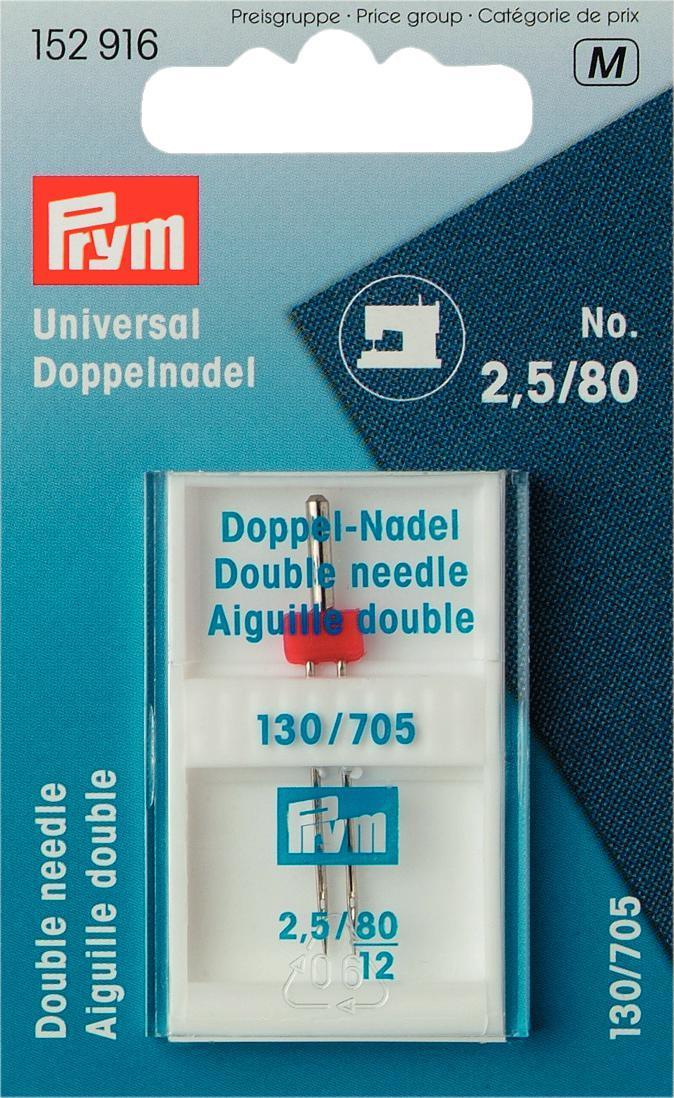Игла для швейных машин Prym, для двойных строчек, №80152916