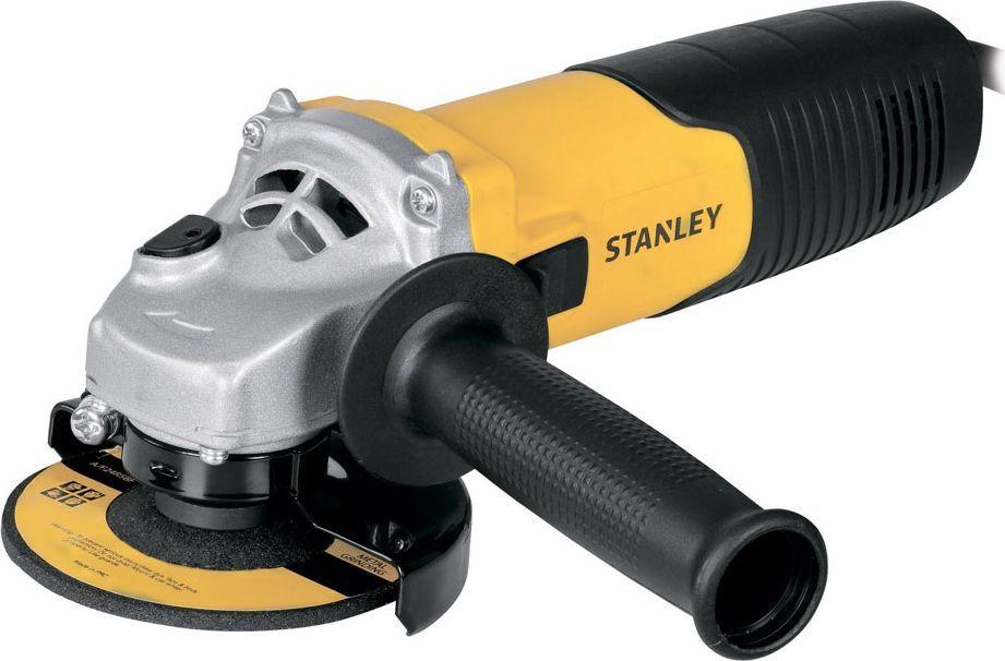 Машина шлифовальная Stanley угловая. STGS9125STGS9125Угловая шлифовальная машина Stanley снабжена высокопроизводительным двигателем. Она предназначена для резки, шлифовки различных поверхностей. Блокировка шпинделя способствует простой смене оснастки. Инструмент во время работы удобно удерживать за дополнительную рукоятку. Управление становится уверенным, а обработка более тщательной.