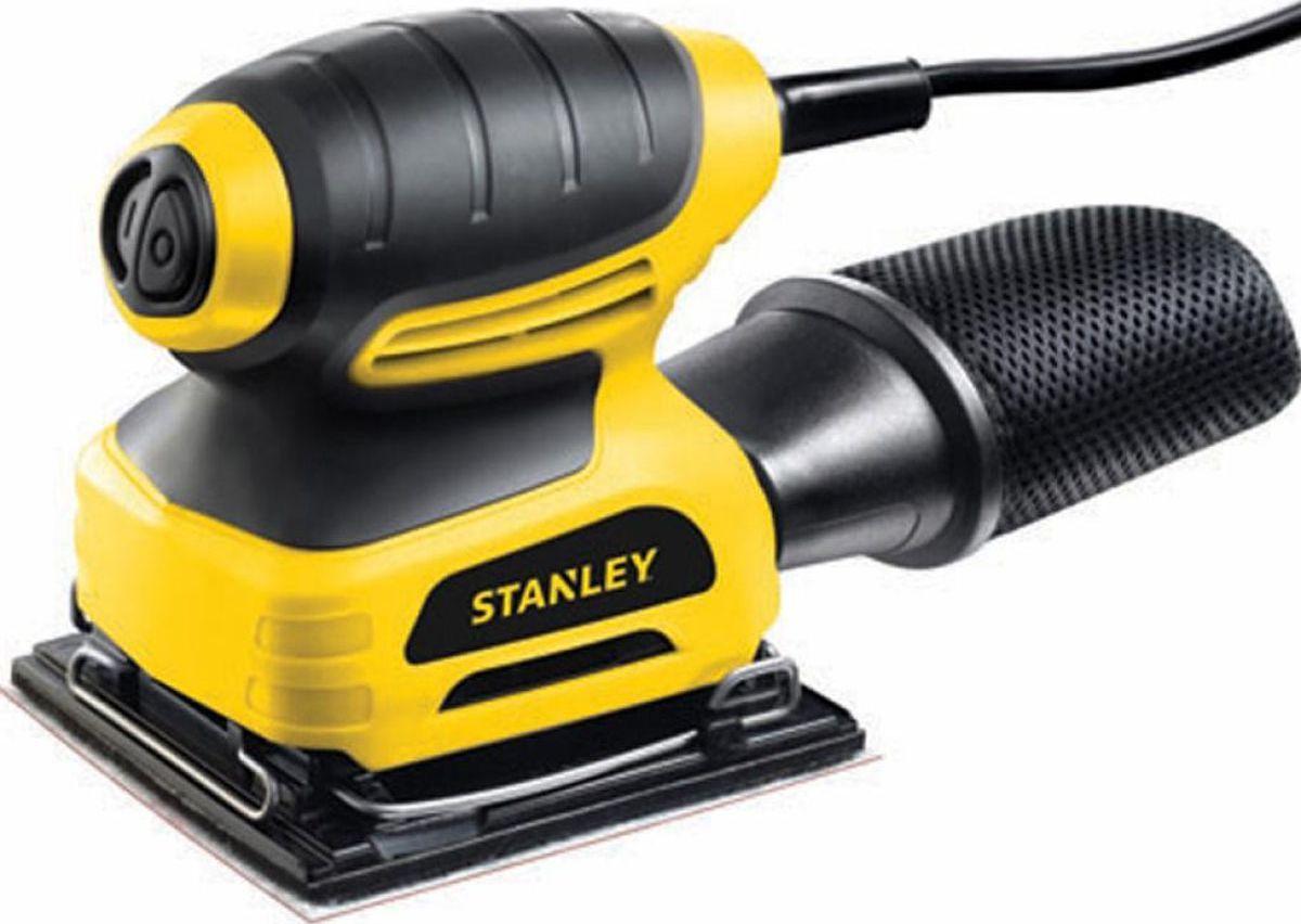 Машина плоско-шлифовальная Stanley. STSS025STSS025Шлифовальная машина Stanley предназначена для выполнения шлифовальных работ на различных поверхностях. Крепление шлифовальных листов осуществляется как с помощью липучки, так и зажима. Машина удобна в работе и обладает высокой производительностью. Для поддержания чистоты на рабочем месте предусмотрена эффективная система удаления опилок.