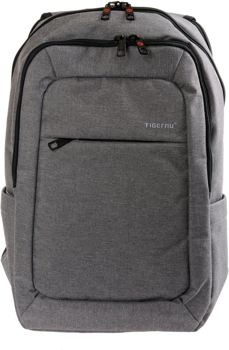 Tigernu T-B3090A, Light Grey рюкзак для ноутбука 15T-B3090AРюкзак Tigernu T-B3090А отлично подойдет для работы, учебы или путешествий. Сделан из высокопрочного,водоотталкивающего материала. Довольно легкий. На задней части вашего рюкзака находится скрытый карман, где вы можете хранить свои документы и ценные вещи. Отделение для ноутбука и планшета со вставкой из защитной пены, которое защитит ваши устройства от царапин и других повреждений. S-образная конструкция спинки с воздухопроницаемой губкой обеспечивает идеальную мягкую посадку. Основное отделение с двойной молнией (защита от кражи). Задний ремешок H-дизайна для ручки и спинки.Размер ноутбука до: 26 х 39 см.