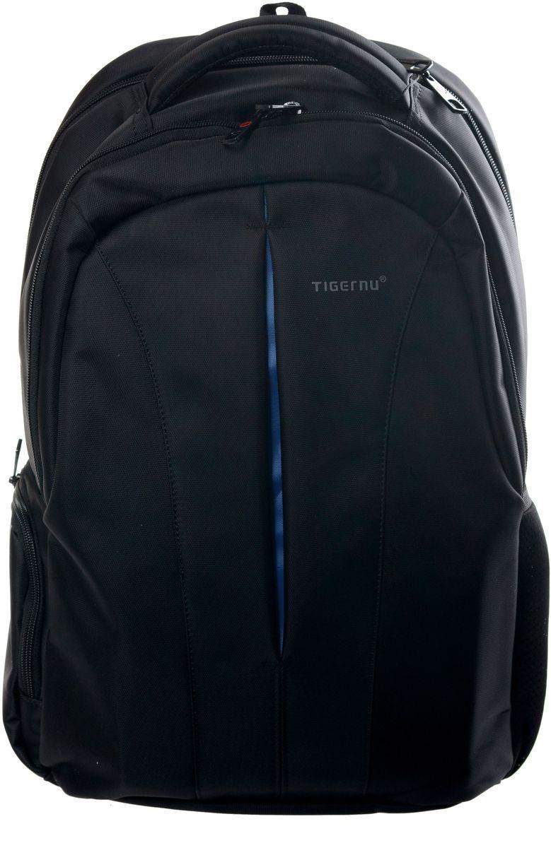 Tigernu T-B3105, Black рюкзак для ноутбука 15T-B3105Рюкзак Tigernu T-B3105 отлично подойдет для работы, учебы или путешевствий. Сделан из высокопрочного, водоотталкивающего материала. Довольно легкий. Отделение для ноутбука и планшета со вставкой из защитной пены, которое защитит ваши устройства от царапин и других повреждений. На задней части вашего рюкзака находится карман на молнии, где вы можете хранить свои документы и ценные вещи. S-образная конструкция спинки с воздухопроницаемой губкой обеспечивает идеальную мягкую посадку. Основное отделение с двойной молнией (защита от кражи). Передняя стягивающая застежка.