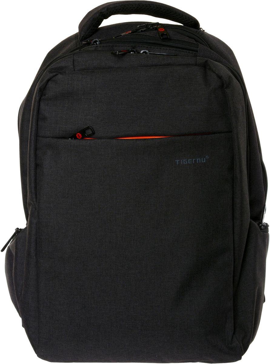 Tigernu T-B3130, Dark Grey рюкзак для ноутбука 15T-B3130Рюкзак Tigernu T-B3130 отлично подойдет для работы, учебы или путешевствий. Сделан из высокопрочного, водоотталкивающего материала. Довольно легкий. Отделение для ноутбука и планшета со вставкой из защитной пены, которое защитит ваши устройства от царапин и других повреждений. S-образная конструкция спинки с воздухопроницаемой губкой обеспечивает идеальную мягкую посадку. Основное отделение с двойной молнией (защита от кражи).