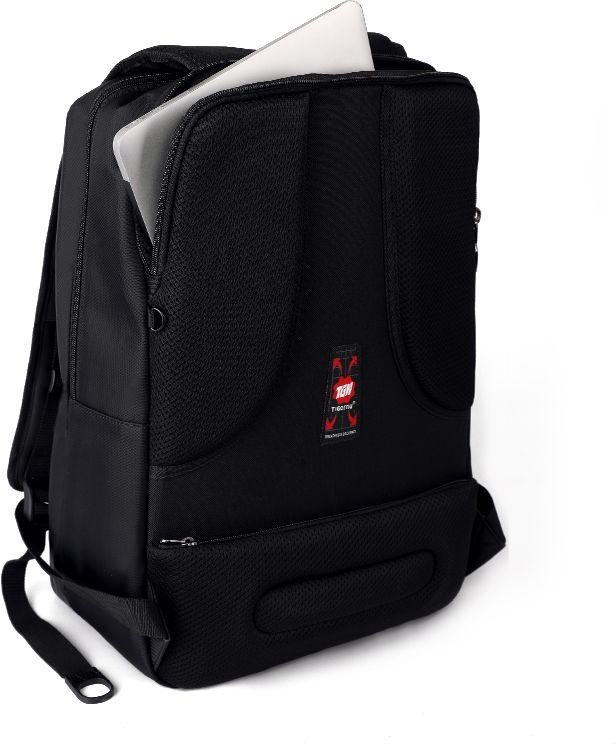 Tigernu T-B3176, Black рюкзак для ноутбука 17T-B3176Рюкзак Tigernu T-B3176 отлично подойдет для работы, учебы или путешествий. Сделан из высокопрочного, водоотталкивающего материала. Довольно легкий. Отделение для ноутбука и планшета со вставкой из защитной пены, которое защитит ваши устройства от царапин и других повреждений. На задней части вашего рюкзака находятся два кармана на молнии, где вы можете хранить свои документы и ценные вещи. S-образная конструкция спинки с воздухопроницаемой губкой обеспечивает идеальную мягкую посадку. Основное отделение с двойной молнией (защита от кражи).