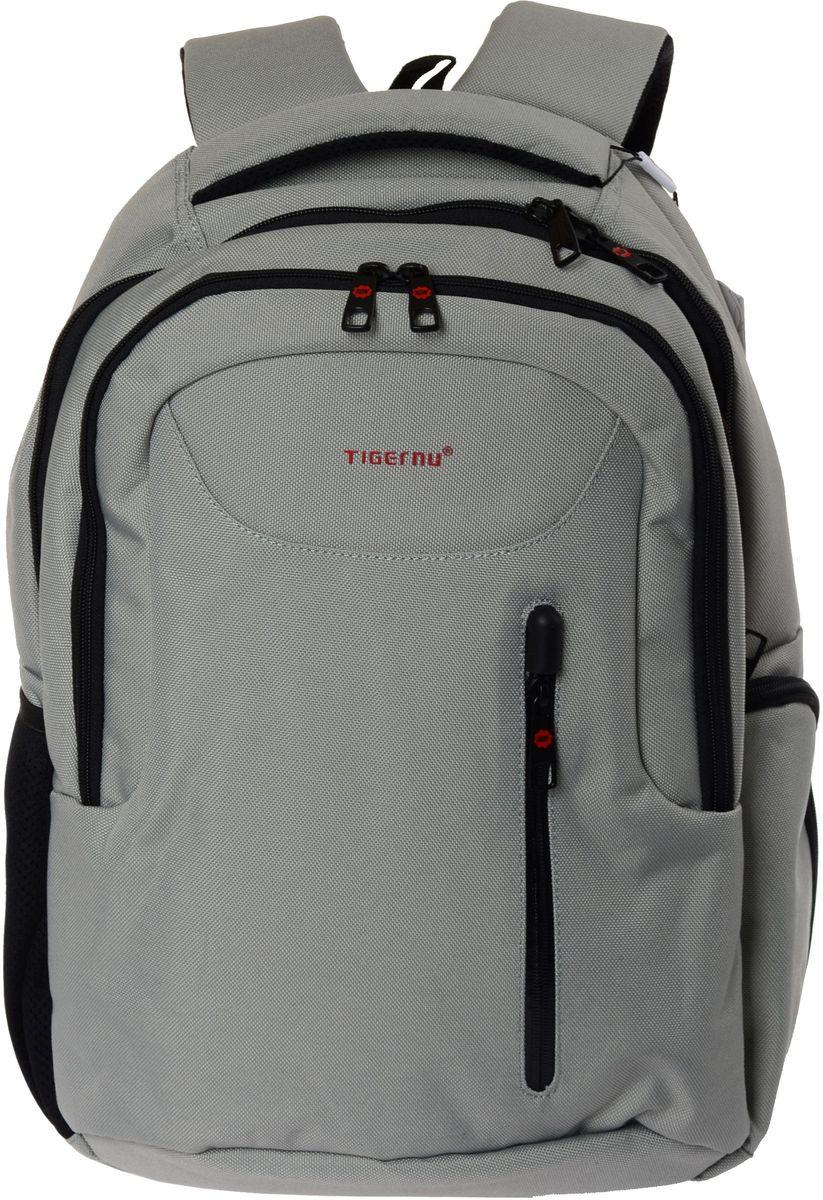 Tigernu T-B3204, Light Green рюкзак для ноутбука 15,6T-B3204Рюкзак Tigernu T-B3204 отлично подойдет для работы, учебы или путешествий. Сделан из высокопрочного, водоотталкивающего материала нейлона 1200D. Довольно легкий. Отделение для ноутбука и планшета со вставкой из защитной пены, которое защитит ваши устройства от царапин и других повреждений. Основное отделение с двойной молнией (защита от кражи). Модель включает в себя: передний карман на молнии, основное отделение, дополнительное отделение, один боковой карман на молнии, и один сетчатый боковой карман на резинке, скрытый карман в спинке рюкзака.