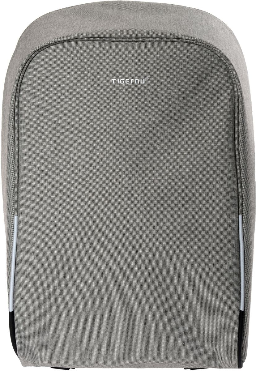Tigernu T-B3213, Light Grey рюкзак для ноутбука 16T-B3213Рюкзак Tigernu T-B3213 отлично подойдет для работы, учебы или путешествий. Сделан из высокопрочного, водоотталкивающего материала. Довольно легкий. Отделение для ноутбука и планшета со вставкой из защитной пены, которое защитит ваши устройства от царапин и других повреждений. S-образная конструкция спинки с воздухопроницаемой губкой обеспечивает идеальную мягкую посадку. Основное отделение с двойной молнией (защита от кражи). Эластичная протяжка для ручек чемоданов.