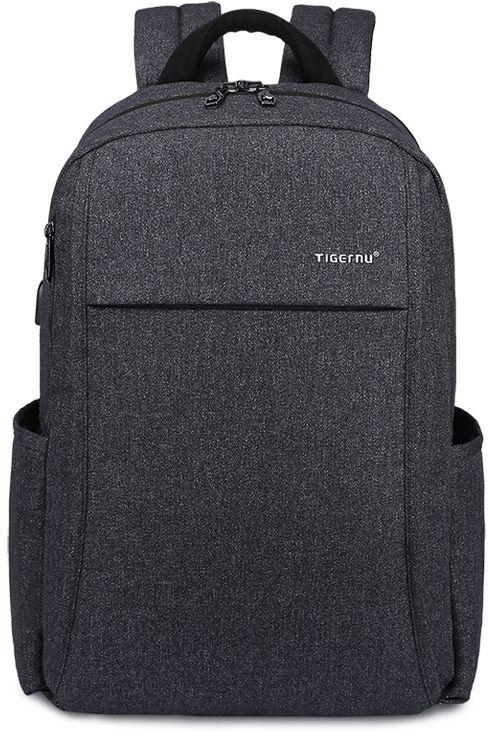 Tigernu T-B3221, Dark Grey рюкзак для ноутбука 15T-B3221Рюкзак Tigernu T-B3221 отлично подойдет для работы, учебы или путешествий. Сделан из высокопрочного, водоотталкивающего материала. Довольно легкий. Отделение для ноутбука и планшета со вставкой из защитной пены, которое защитит ваши устройства от царапин и других повреждений. S-образная конструкция спинки с воздухопроницаемой губкой обеспечивает идеальную мягкую посадку. Основное отделение с двойной молнией (защита от кражи). Эластичная протяжка для ручек чемоданов. USB вход для зарядки гаджетов (смартфон, планшет). Передняя стягивающая застежка.