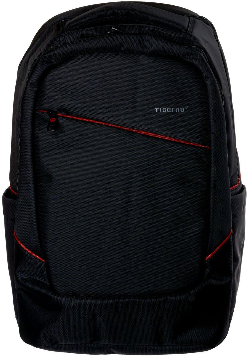 Tigernu T-B3098, Black рюкзак для ноутбука 15T-B3098Рюкзак Tigernu T-B3098 отлично подойдет для работы, учебы или путешевствий. Сделан из высокопрочного,водоотталкивающего материала. Довольно легкий. Отделение для ноутбука и планшета со вставкой из защитной пены, которое защитит ваши устройства от царапин и других повреждений. Конструкция спинки с воздухопроницаемой губкой обеспечивает идеальную мягкую посадку. Основное отделение с двойной молнией (защита от кражи).