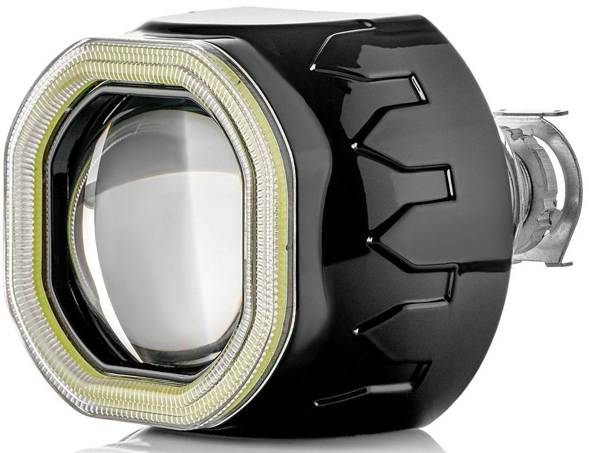 Купить Биксеноновая линза Clearlight Ангельский глаз , в фару с Н4/Н7, под лампу H1, 2, 5 дюйма