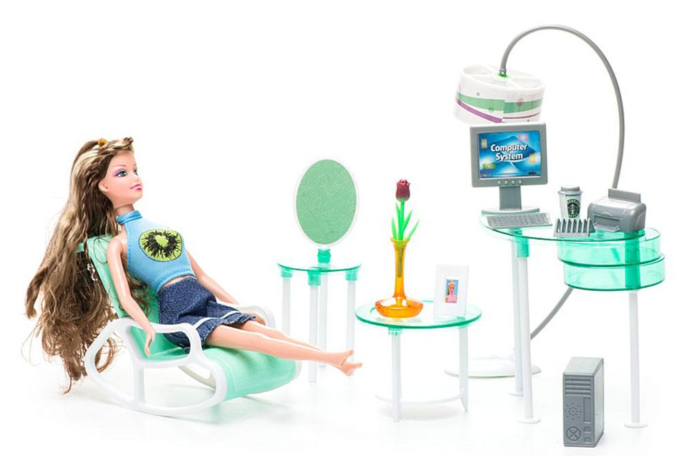 1TOY Игровой набор с куклой Офис стул в офис