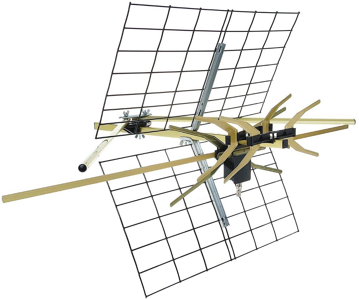 Funke ABM 3517 антенна для цифрового ТВ (активная)13342Funke ABM 3517 - это активная уличная антенна дальнего действия, специально разработанная для приема цифрового телевидения даже в самых сложных условиях. Вы получаете гарантированное европейское качество материалов и сборки.Для защиты от коррозии и УФ-лучей антенна изготовлена из анодированного алюминия. Поэтому она служит значительно дольше других.Расстояние от передатчика: до 45 км;Коэффициент усиления: VHF – 21dBi; UHF – 24 dBi;Питание: по кабелю от ресивера или через адаптер;Ветровая нагрузка (120 км/ч): 47 N.