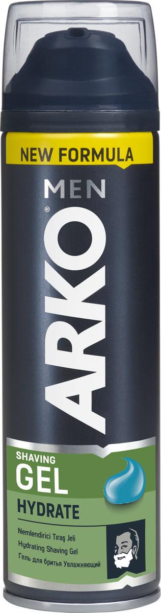Arko Men Гель для бритья Hydrate 200мл arko men станок для бритья t2 pro 2 лезвия 5шт