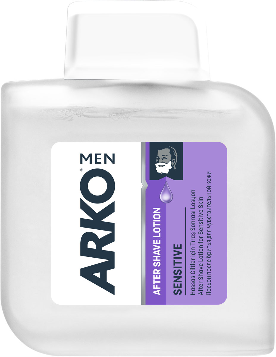 Arko Men AS Лосьон после бритья SENSITIVE 100мл cliven лосьон после бритья 100мл