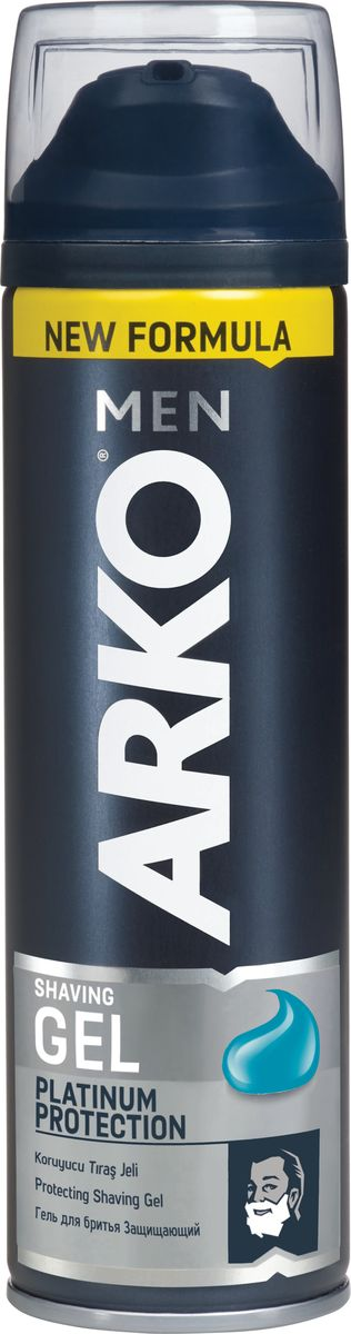 Arko Men Гель для бритья Platinum Protection 200мл купить