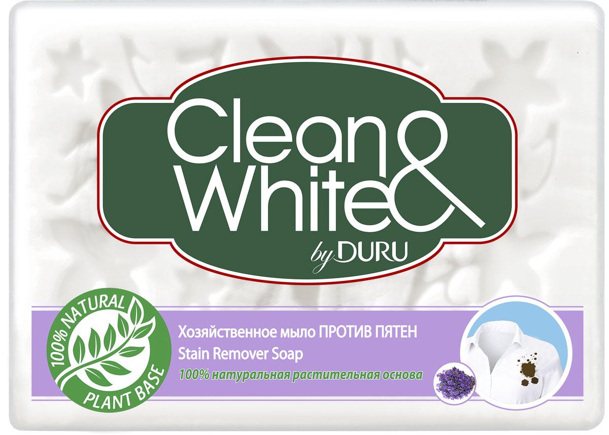 Duru Clean&White Хозяйственное Мыло Пр.пят.125г80003277452Хозяйственное мыло Duru подходит для любого использования: от стирки до личной гигиены. Это мыло можно использовать как в холодной, так и в горячей воде, оно не вызывает аллергии,а благодаря содержанию глицерина и смягчающими компонентами, обеспечивает коже дополнительный уход.. Белоснежного цвета,с легким приятным запахом. Гипоаллергенное.