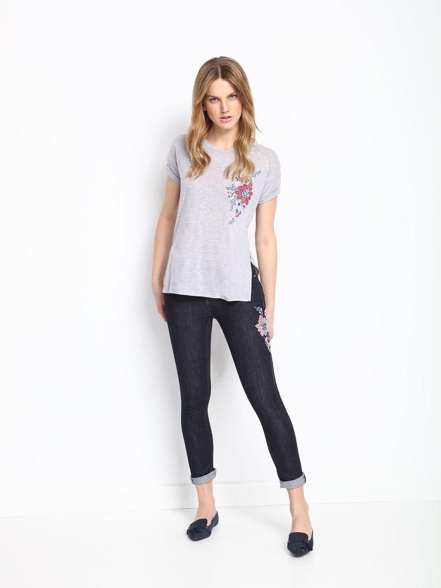 Брюки женские Top Secret, цвет: синий. SSP2516NI. Размер 36 (44)SSP2516NIСтильные женские брюки Top Secret - брюки высочайшего качества на каждый день, которые прекрасно сидят. Модель изготовлена из высококачественного комбинированного материала. Эти модные и в тоже время комфортные брюки послужат отличным дополнением к вашему гардеробу. В них вы всегда будете чувствовать себя уютно и комфортно.