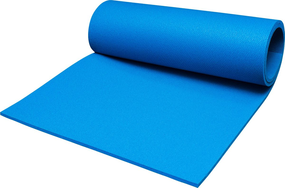 Коврик туристический Пенолон, цвет: синий, 180 х 60 х 1 см