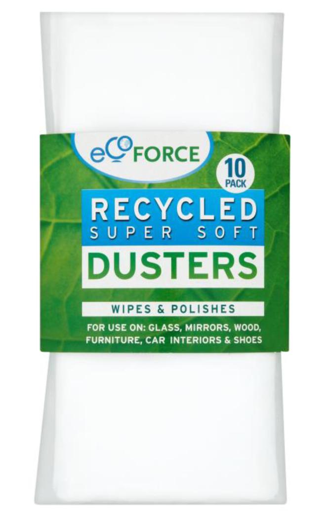 Салфетка EcoForce, супермягкая, 10 шт116-02-1406/4065Супермягкие салфетки EcoForce - многофункциональные салфетки для любых поверхностей, подходят для стекла, зеркал, дерева, мебели, автомобилей и обуви. Мягкий нетканый материал собирает пыль и полирует поверхность. Может использоваться для сухой или влажной уборки, с чистящими средствами или без них.