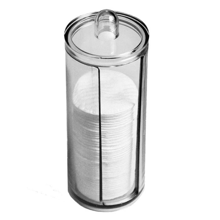 Диспенсер для ватных дисков Beauty Logic, 19 х 7,5 см0910-0-9799Диспенсер для ватных дисков Beauty Logic обеспечивает комплексный эффект: сохраняет чистоту материала; делает процесс хранения ватных дисков максимально удобным.Размер: 19 х 7,5 см.
