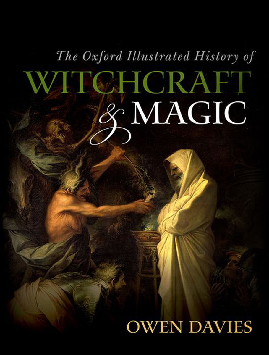 The Oxford Illustrated History of Witchcraft and Magic the disappearance of the dice magic props black white red