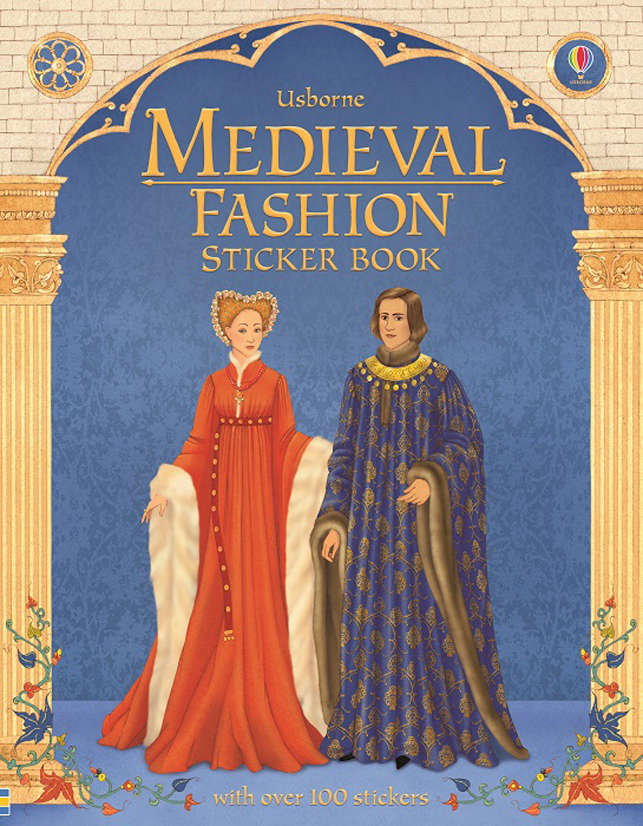 цена на Medieval Fashion Sticker Book