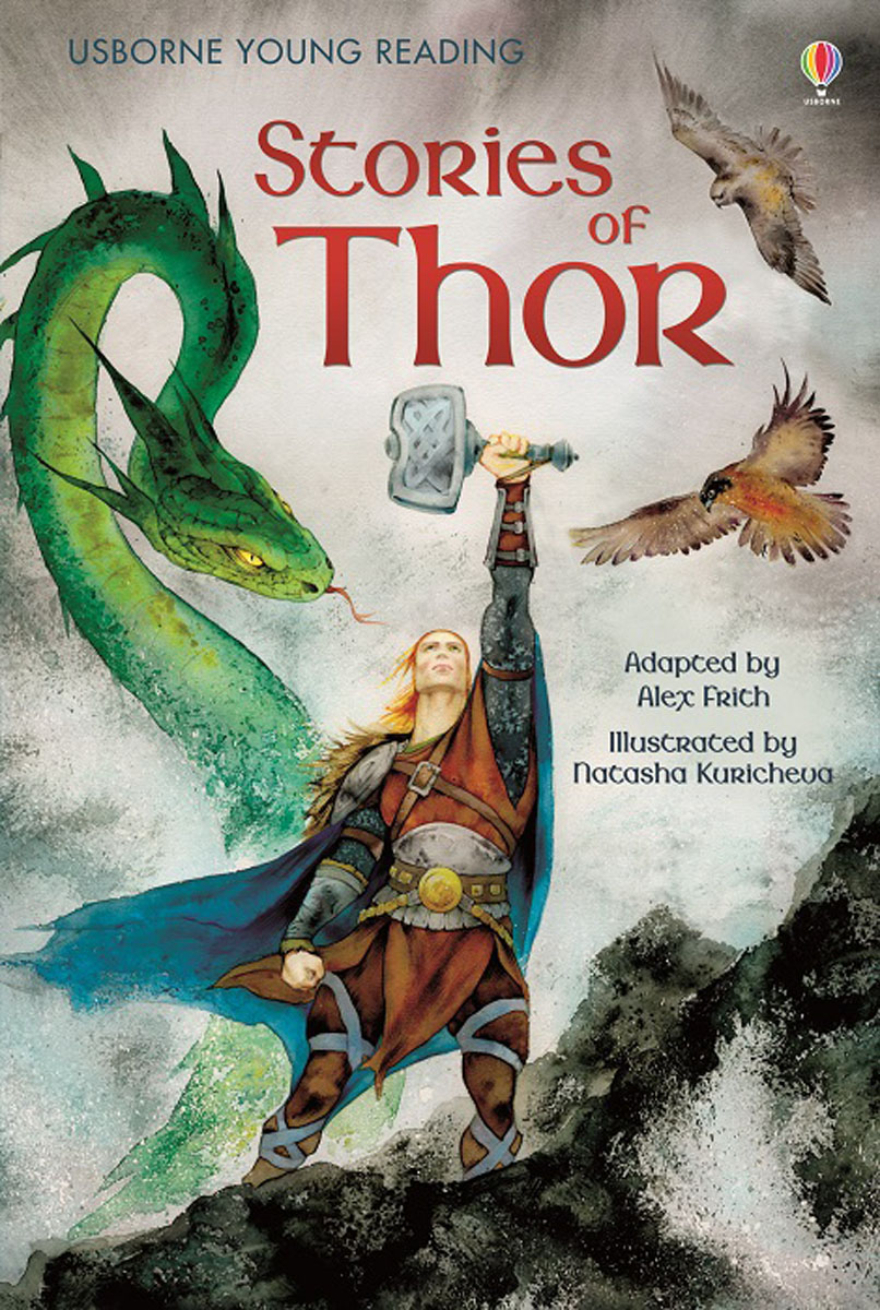 Stories of Thor illustrated norse myths