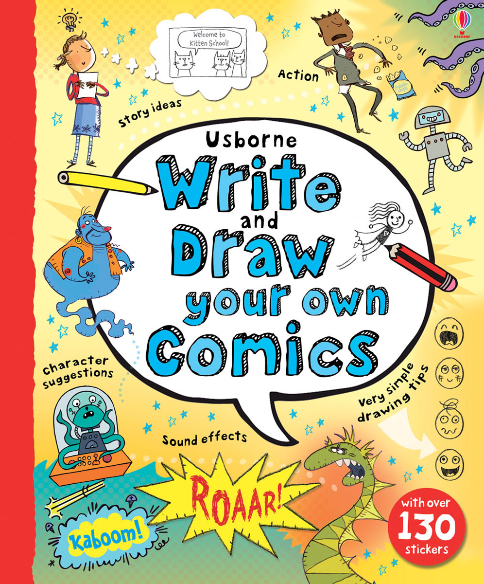 Write and Draw your own Comics how to draw fairies and mermaids