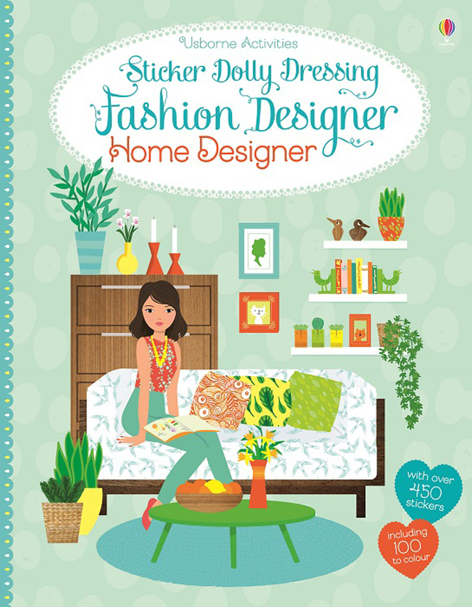 Sticker Dolly Dressing Fashion Designer Home Designer intername vera gerasimova houses apartments dressing of an interior